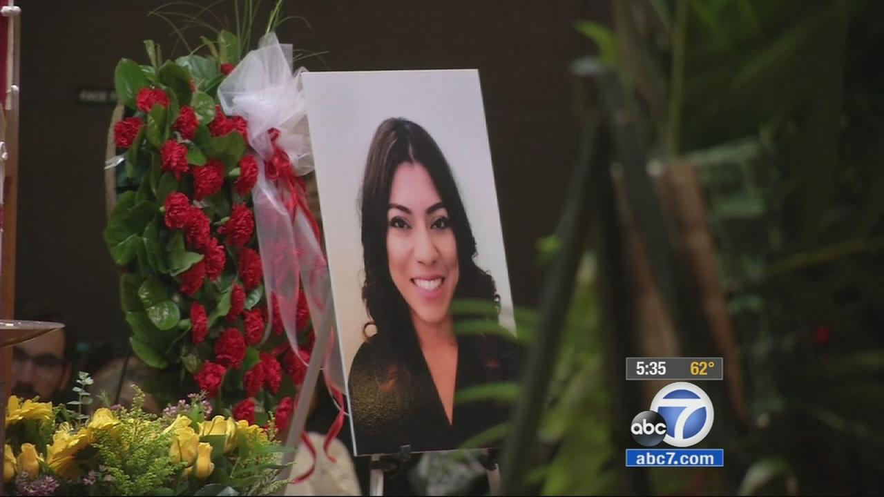 Erica Alonso, a woman who went missing in mid-February and whose body was found on Monday, April 28, 2015 in the Cleveland National Forest, was laid to rest Friday, May 8, 2015.