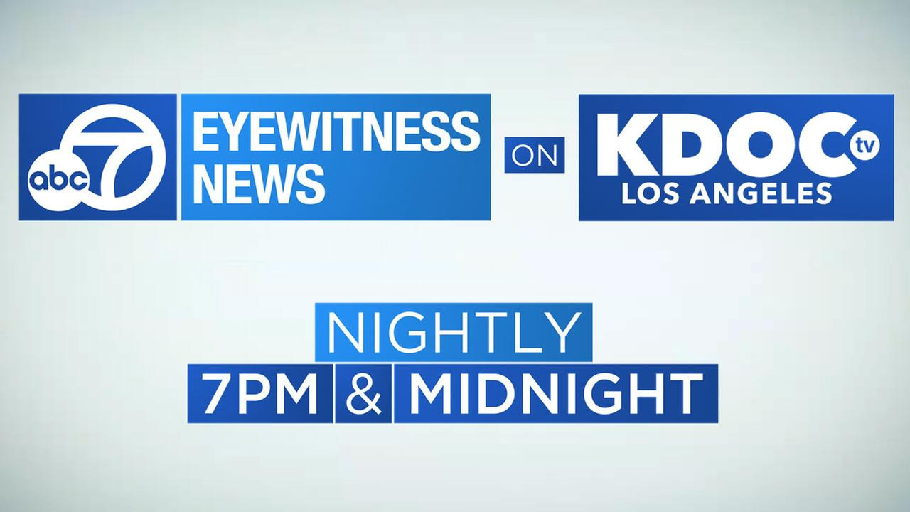 Watch Eyewitness News at 7:00 and 7:30 nightly on KDOC-TV