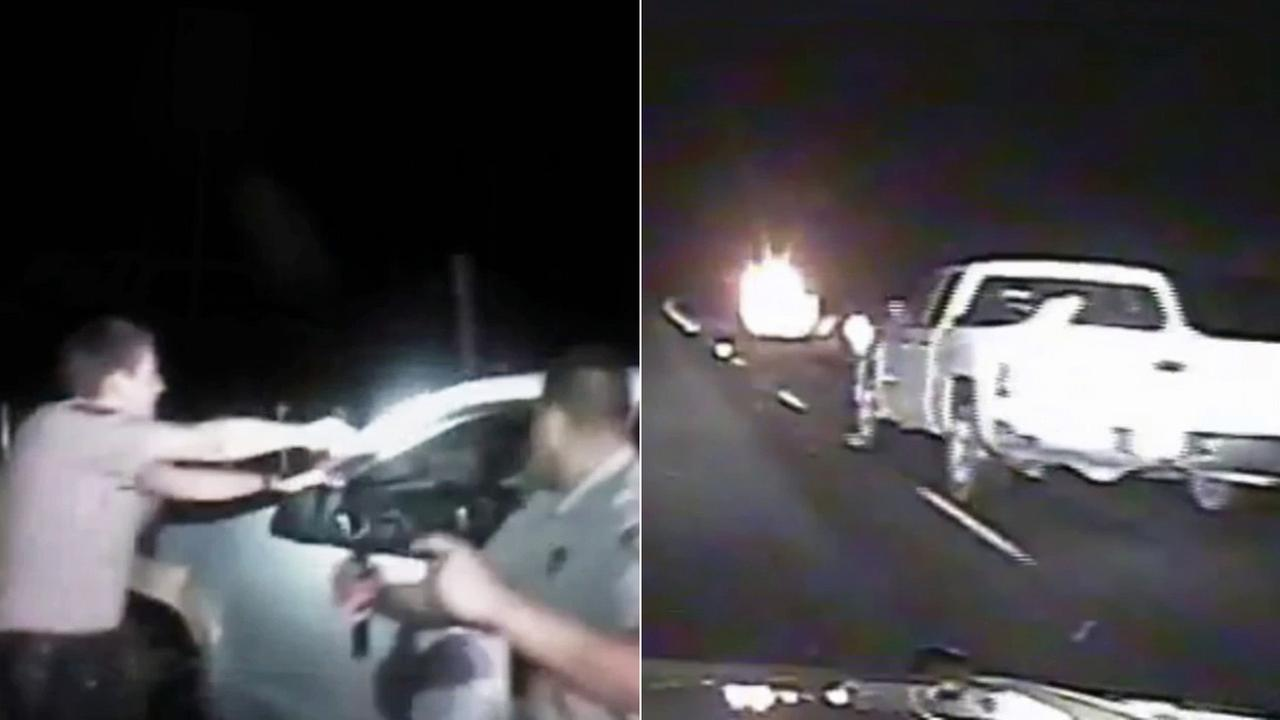 A wild, high-speed chase in Texas was caught on both dash and body cameras. The footage gives a rare close-up look at a dangerous pursuit.