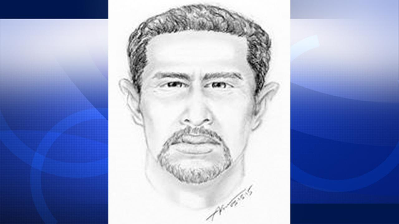 A police sketch of a man suspected of raping a woman in her Boyle Heights home.