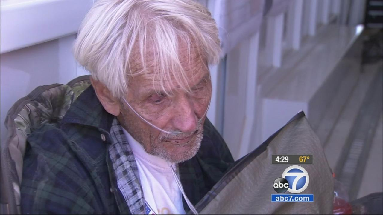 An 86-year-old man with dementia, who had wandered away from his family at a desert campsite Monday, May 18, 2015 was found alive Wednesday, May 20, 2015.