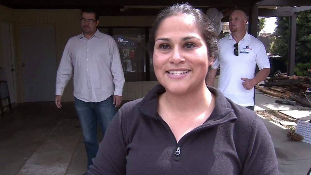 Maribel Chacon, a single mother of six and U.S. Army veteran, was given a $10,000 grant for home repairs by the non-profit HomeStrong USAs Heroes Home Repair Program.