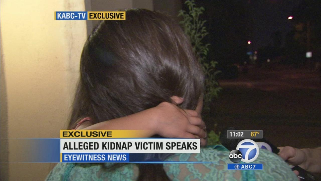 A woman who had been held captive for 10 years speaks out exclusively to Eyewitness News on Wednesday, May 21, 2014.