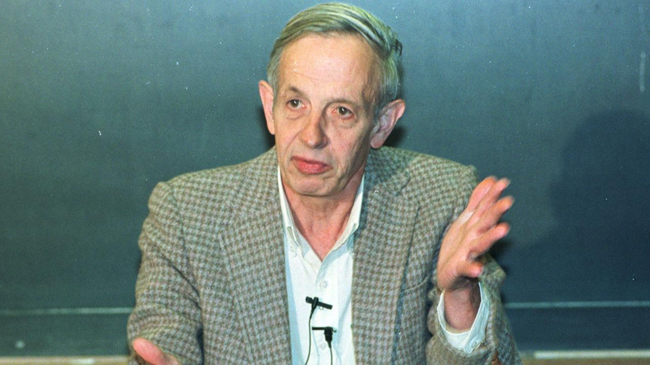 Famed mathematician John Nash died in a taxi crash on the New Jersey Turnpike on Saturday, May 23, 2015. He was 86.AP Photo/Charles Rex Arbogast