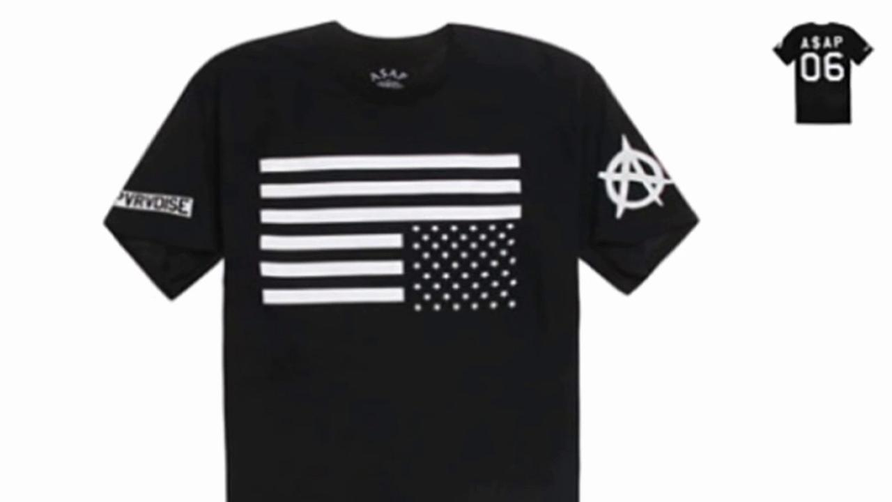 Clothing retailer PacSun pulled a T-shirt featuring an upside-down American flag from its stores on Memorial Day after facing backlash from several angry customers.
