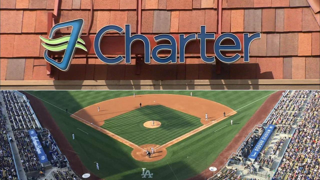 Charter Communications will begin showing Dodgers games to its L.A. subscribers soon, the company confirmed following news of its deal to buy Time Warner Cable.