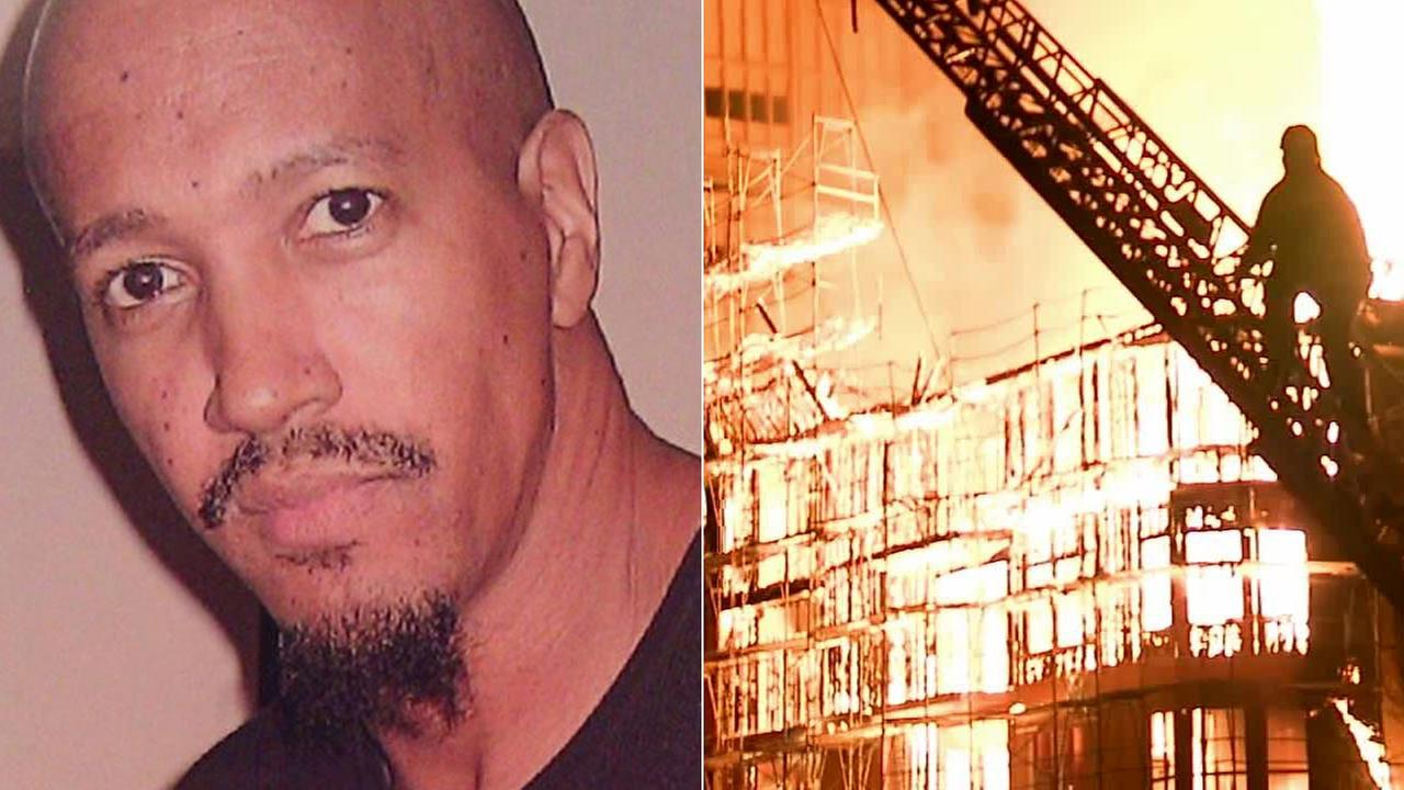 Dawud Abdulwali, shown in an undated file photo, was charged with arson in connection to the massive fire that destroyed the Da Vinci Apartments in December 2014.