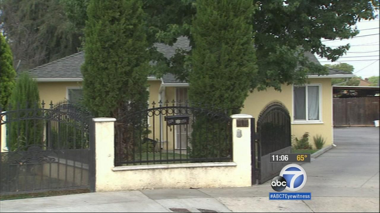 A 13-year-old and a 16-year-old suffered gunshot wounds following a shooting at a Azusa home on Wednesday, May 27, 2015.