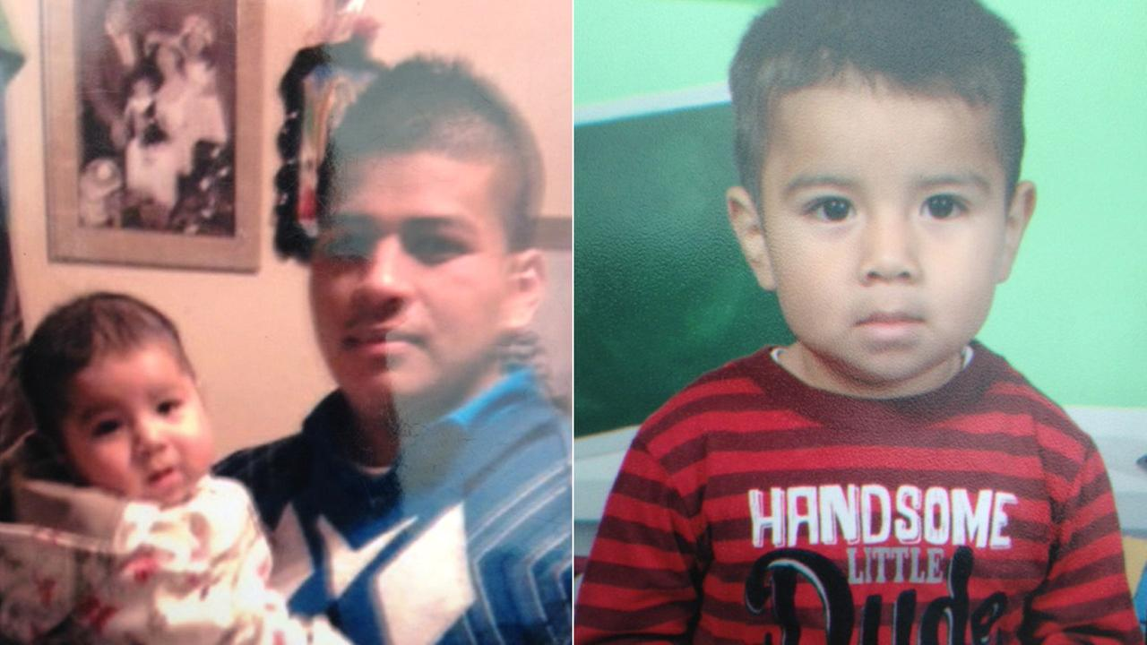 LAPD released these photos of the suspect, Abraham Vargas, and the boy, Edwin.