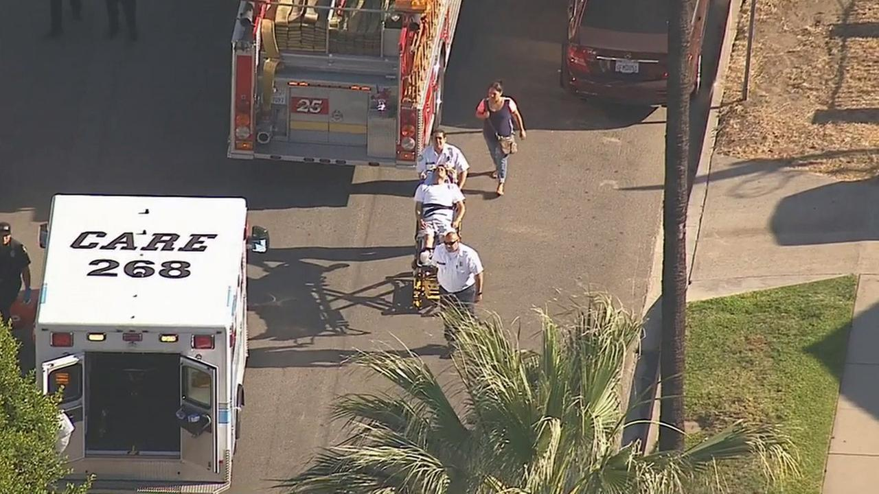 A roadside assistance driver was stabbed to death in Pico Rivera on Tuesday, June 2, 2015.