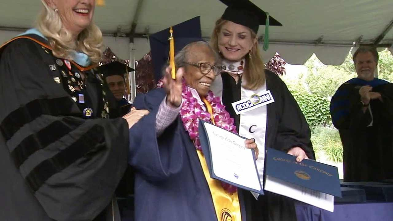 year old w graduates from college of the canyons in 99 year old w graduates from college of the canyons in valencia com
