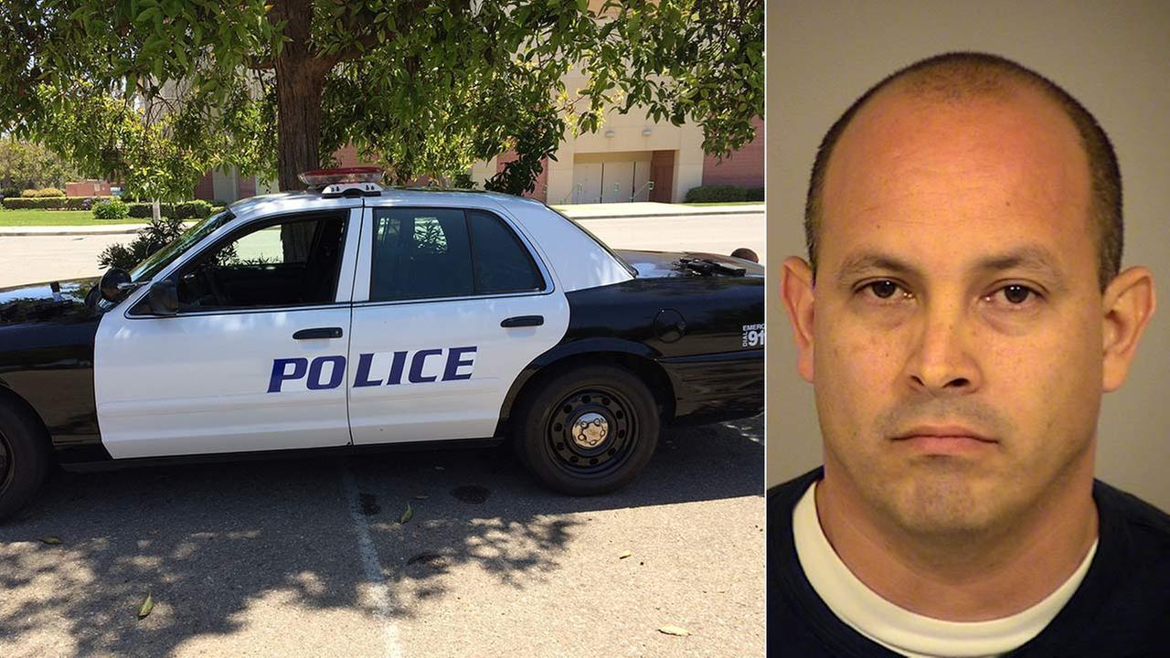 Oliver James, 44, was arrested for allegedly impersonating a Los Angeles police officer on Sunday, June 7, 2015.