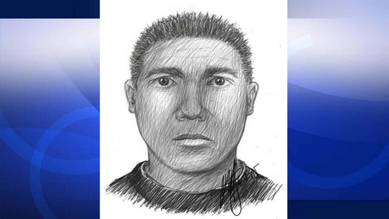 This sketch depicts a suspect wanted for groping women in Long Beach.