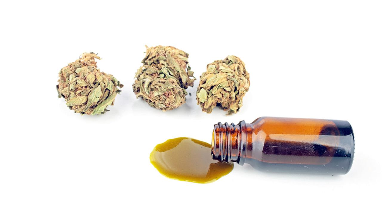 Honey oil, also referred to as hash oil or wax, which is the THC extracted from marijuana is shown in the file image above.