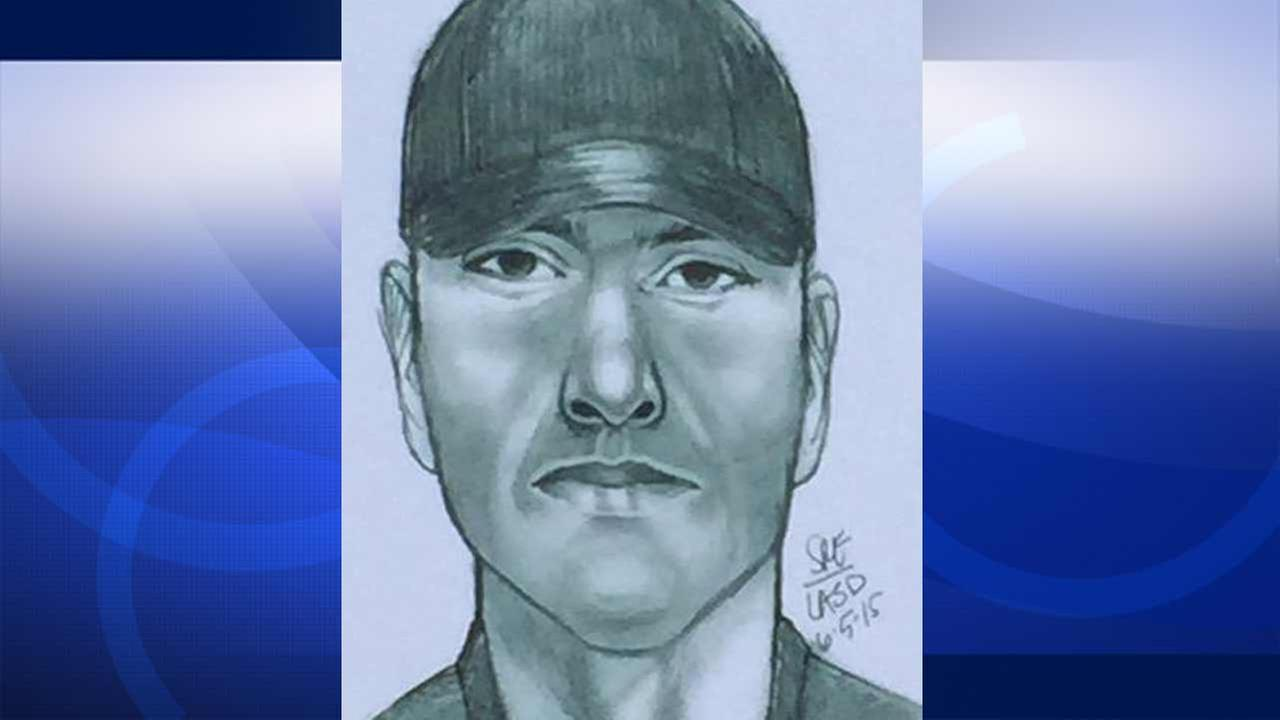 Los Angeles County sheriffs deputies released a sketch of a robbery suspect wanted for allegedly shooting 63-year-old Pravin Patel in San Dimas on Tuesday, June 2, 2015.