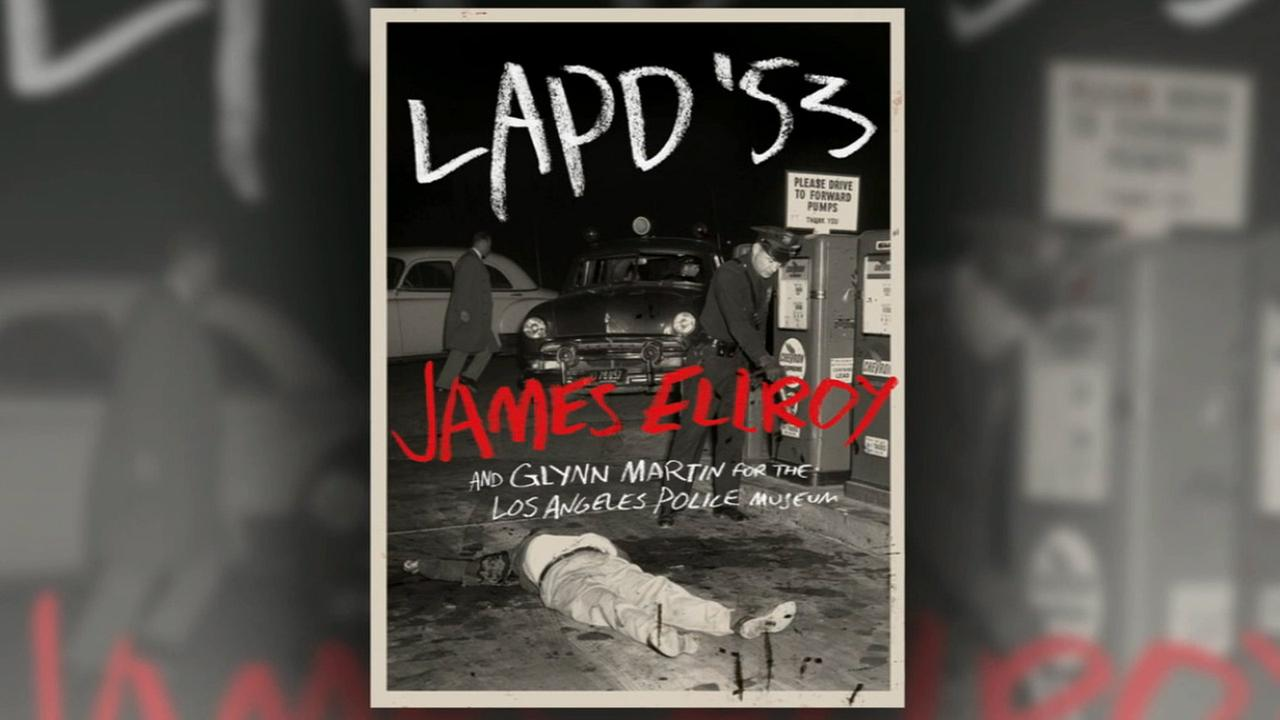 The cover for the book LAPD 53 is shown in an undated photo.