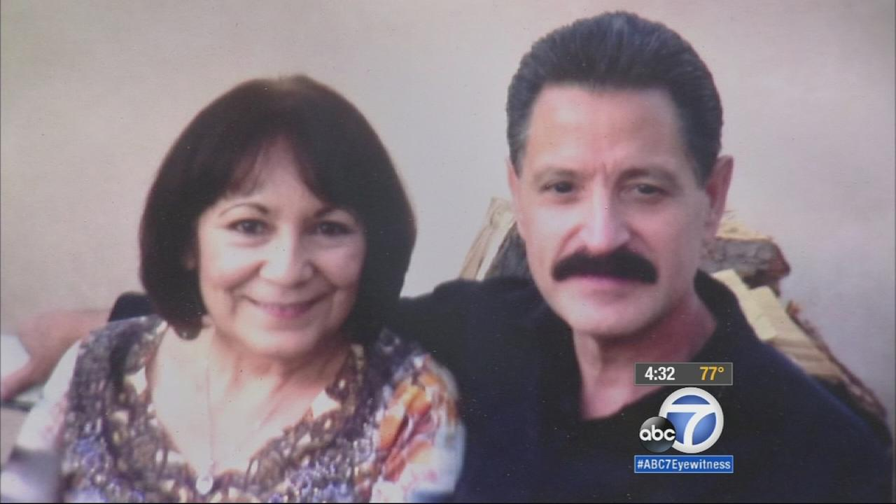 Alfred Chacon, 62, and his wife, Alma Alyse, 61, were killed when a car driven by a driver allegedly under the influence in Arleta on Saturday, June 20, 2015.