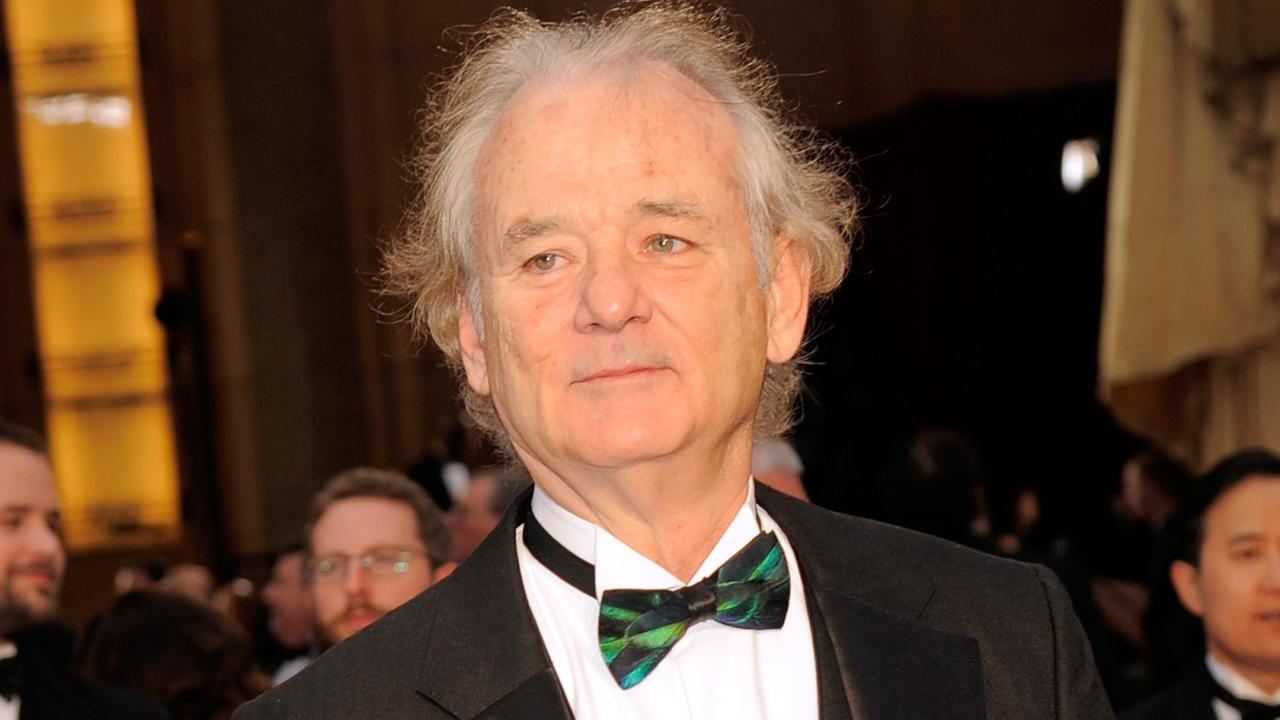 Bill Murray arrives at the Oscars on Sunday, March 2, 2014, at the Dolby Theatre in Los Angeles.