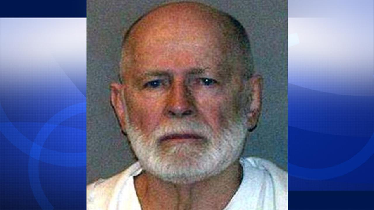 James Whitey Bulger is shown in his booking photo.