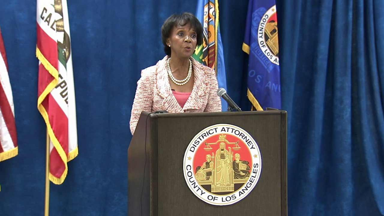 L.A. County District Attorney Jackie Lacey announced Monday, June 29, 2015 that a team of veteran prosecutors will begin reviewing wrongful conviction claims from state prisoners.