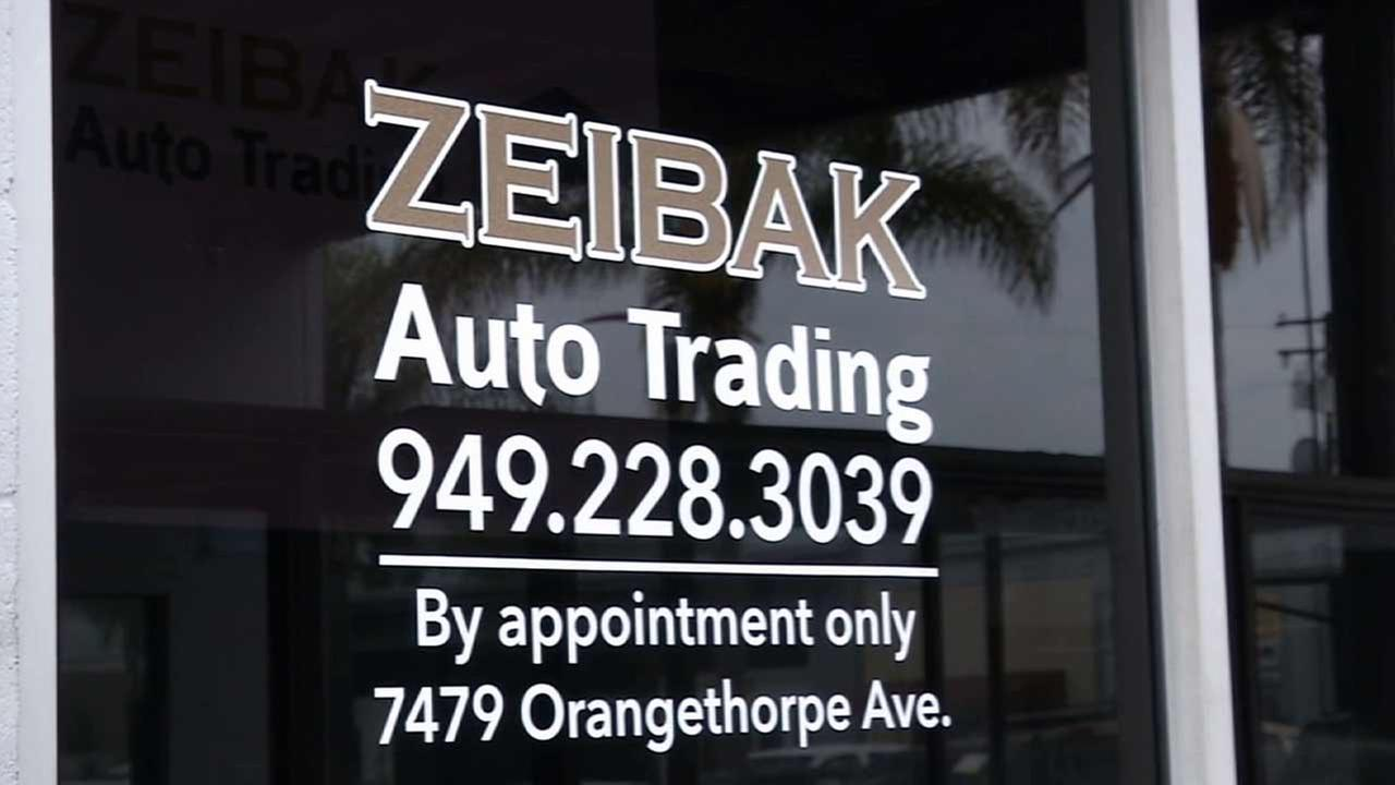 Zeibak Auto Trading has filed a $75,000 lawsuit in state court against a Laguna Niguel man who left the company a bad review on Yelp.