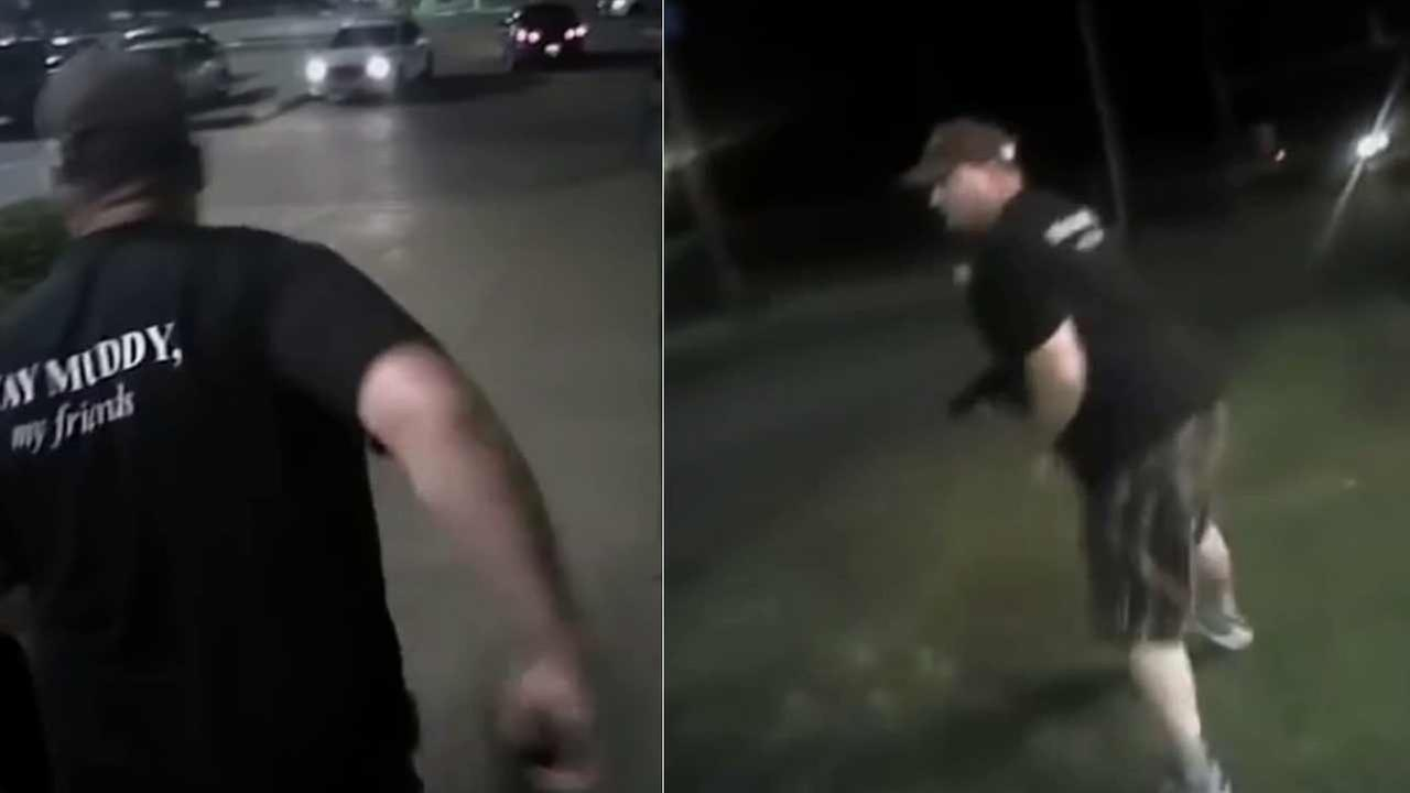 Video from the body cameras of two Texas police officers show the moments leading up to the fatal shooting of a suspect outside of an Applebees restaurant on May 31.