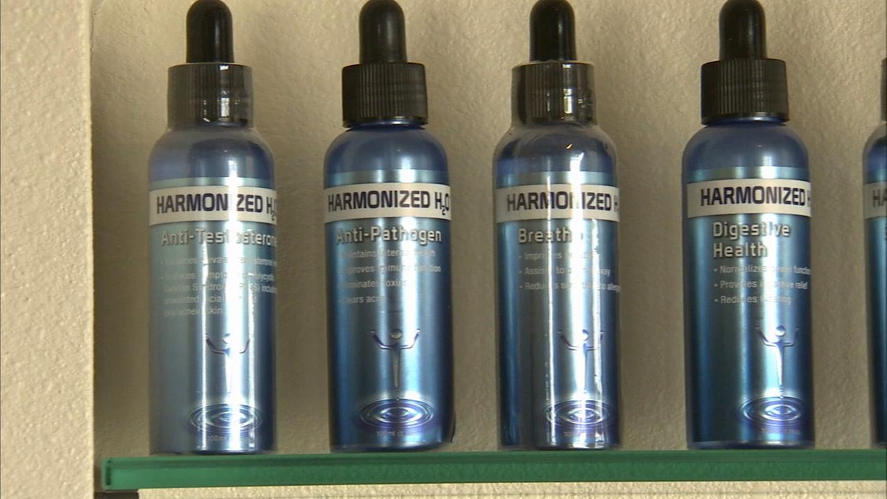 A company claims a drinkable sunscreen in water form can cancel out about 97 percent of the suns damaging UVA and UVB rays.