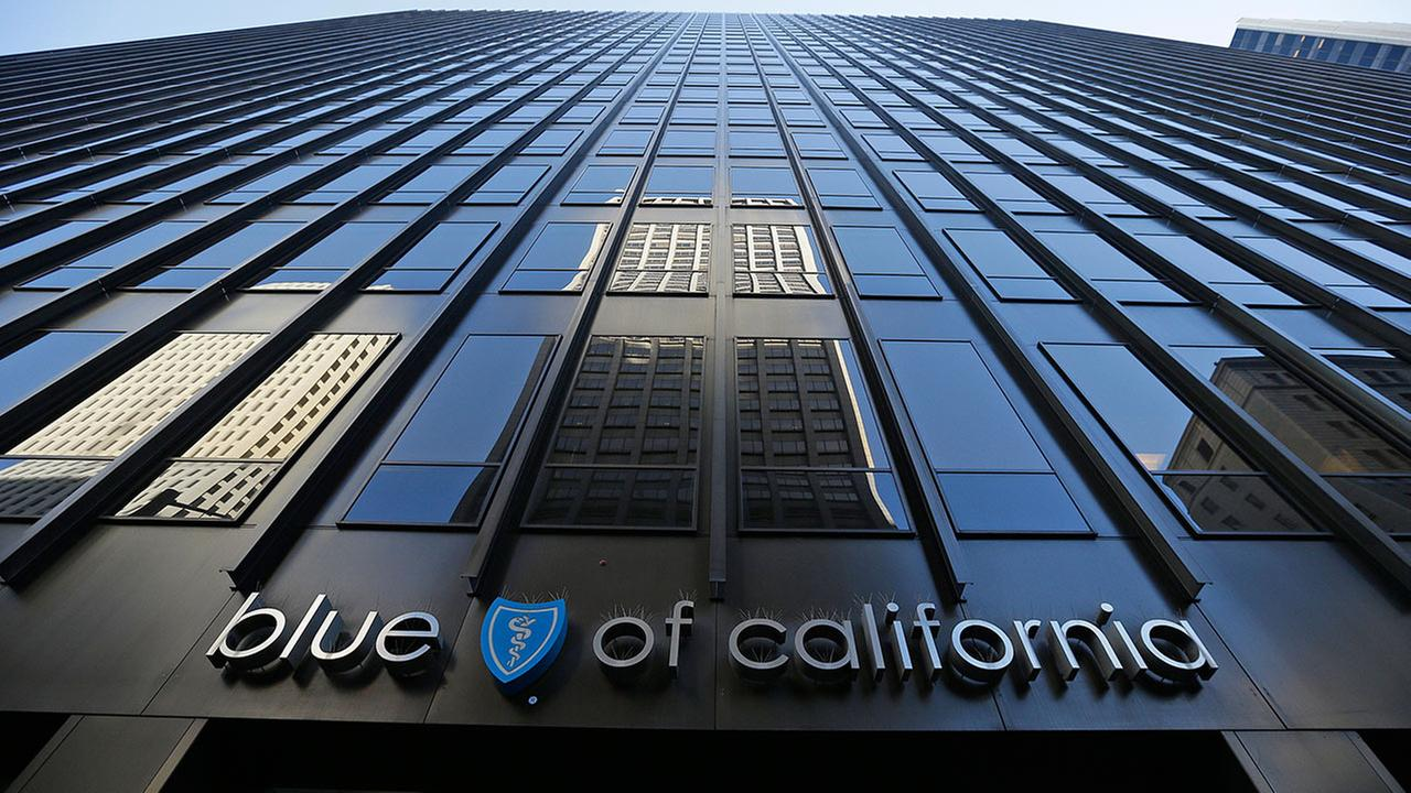 In this photo taken Wednesday, April 8, 2015, is the headquarters building of Blue Shield of California in San Francisco.