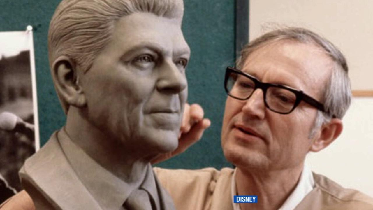 Sculptor Blaine Gibson, who was behind some of Disneys most iconic statues, has died, the company announced Monday, July 6, 2015. He was 97.