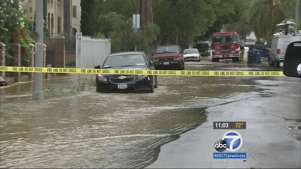 A slew of broken water mains caused major flooding across the city of Los Angeles Thursday morning. Now, a massive repair effort is underway.
