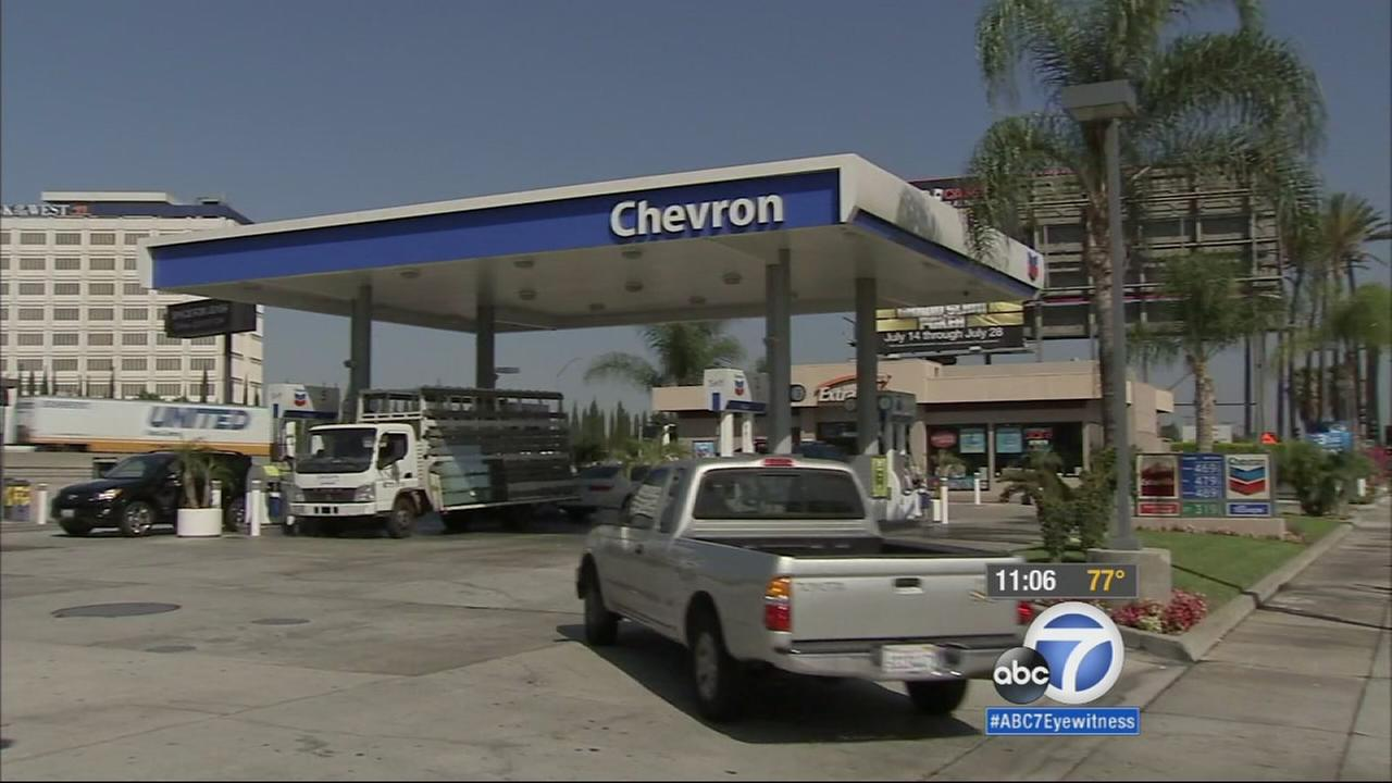 Drivers in Southern California got hit with yet another big increase at the gas pump Tuesday morning. The average for a gallon of self-serve regular gasoline went up 15 cents.