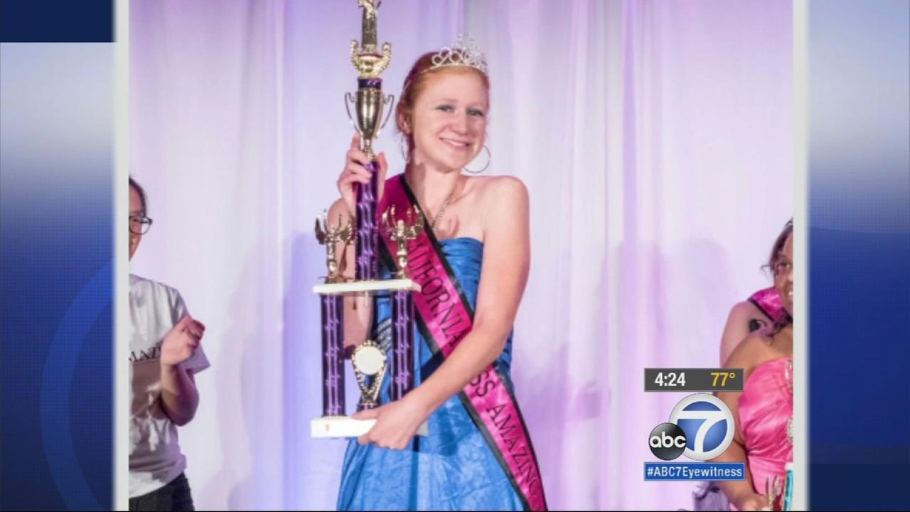 Miss Amazing is a pageant is for women and girls with disabilities that helps build self-esteem. Californias Miss Amazing representative says its not about winning - but about inspiring others.
