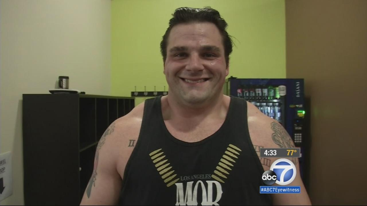 Scott Sawyer lost three family members at a young age to several different health problems and has dealt with the loss by staying in shape and hitting the gym.