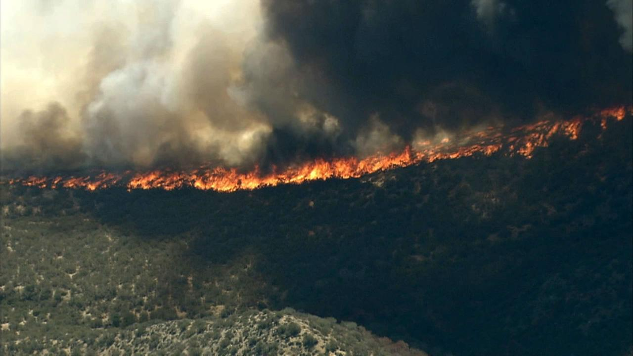 North fire