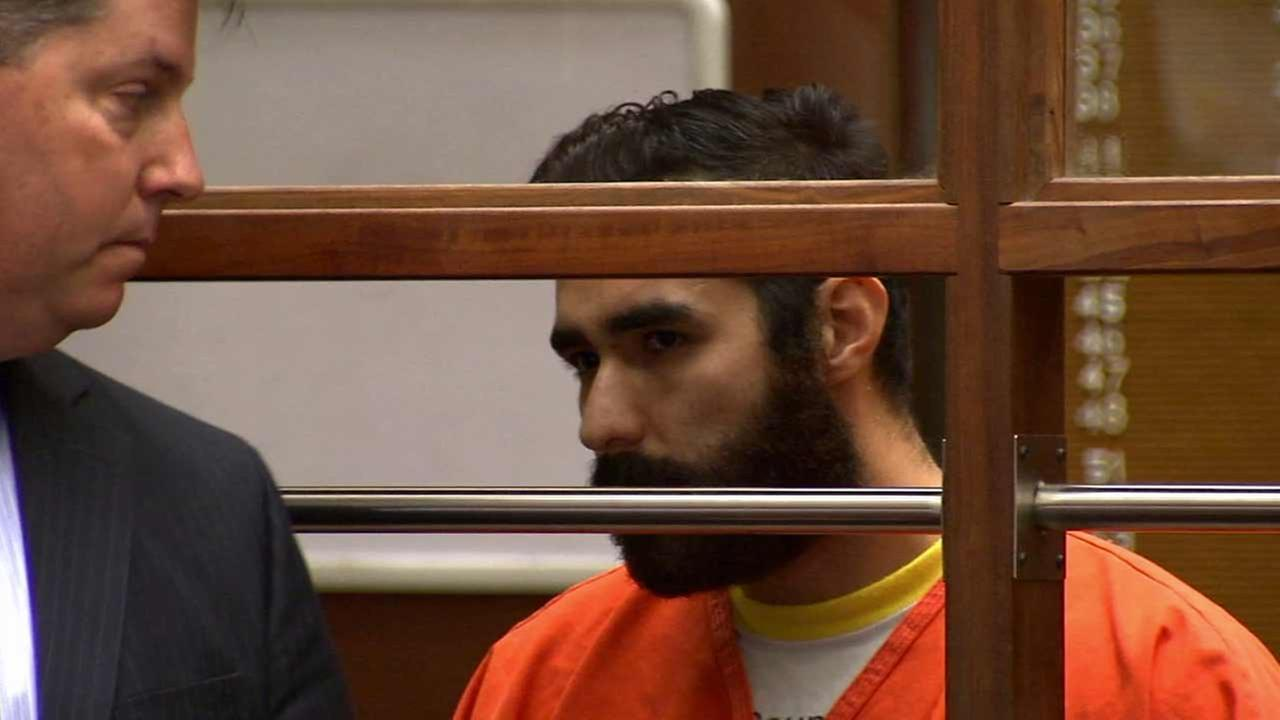 Henry Solis, 27, pleaded not guilty to murder, assault with a firearm and an allegation that he personally discharged a handgun Friday, July 17, 2015