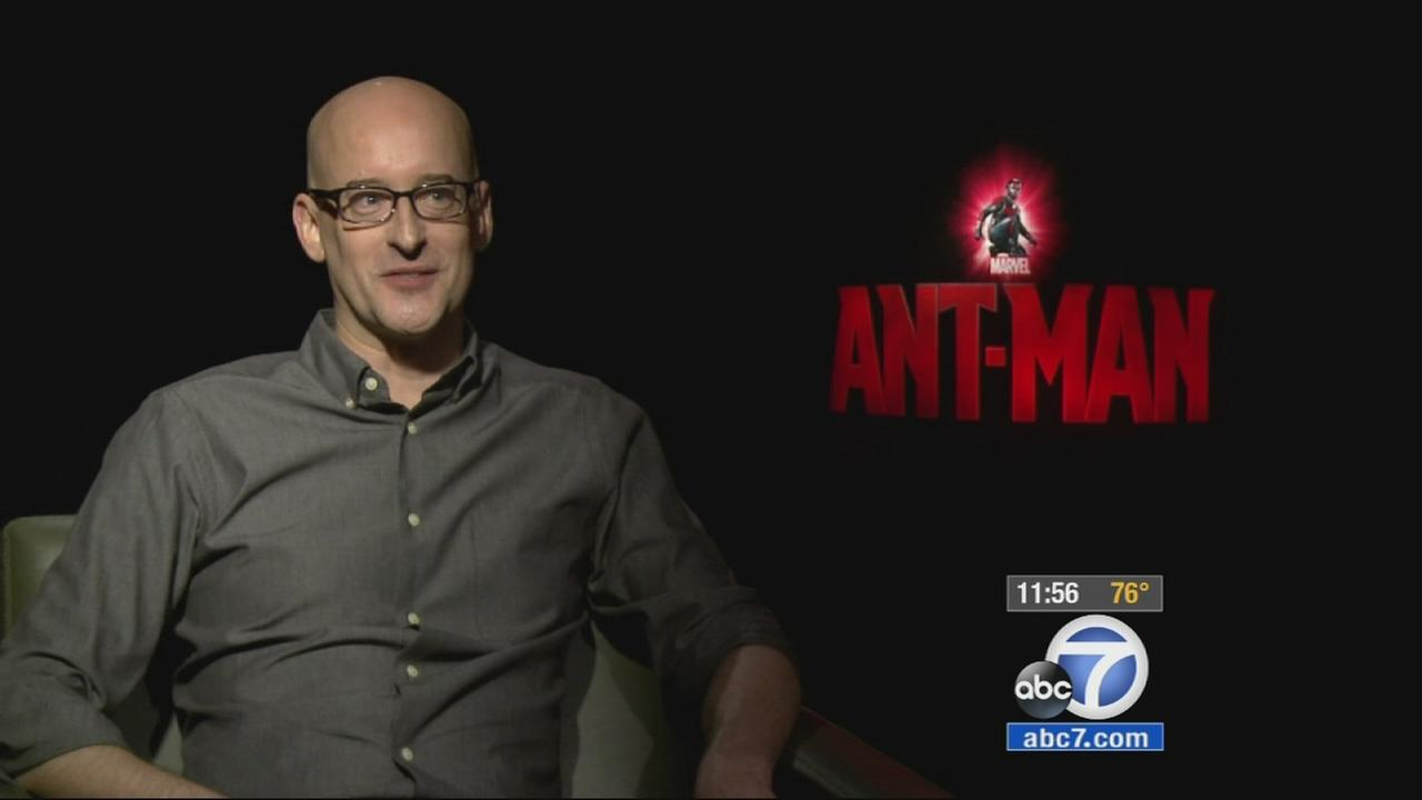 Ant-Man director Peyton Reed talks to George Pennacchio about how he brought the characters in the blockbuster film to life.