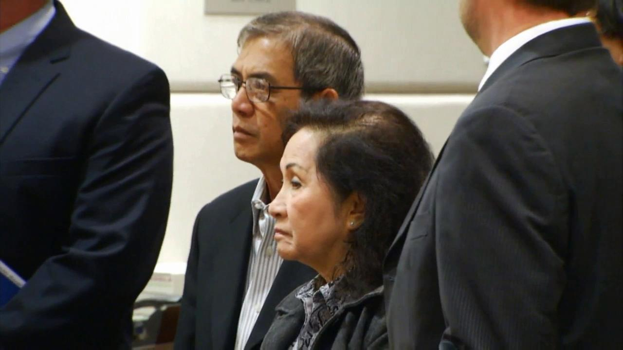 Marguerite and Michael Vuong, both 66, pleaded not guilty to charges stemming from an alleged hit-and-run crash that killed a federal judges son in Pacific Palisades.
