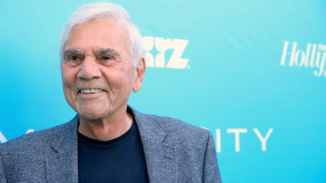 Alex Rocco arrives at the Magic City premiere on Monday, June 3, 2013, in L.A. Roccos daughter, Jennifer, announced his death on July 18, 2015.Alexandra Wyman/Invision for The Hollywood Reporter/AP Images