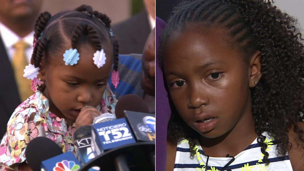 Neveahs mother, Kashmier James, was shot and killed in the 1700 block of W. 85th Street in the Manchester Square area of South Los Angeles on Saturday, Dec. 25, 2010.