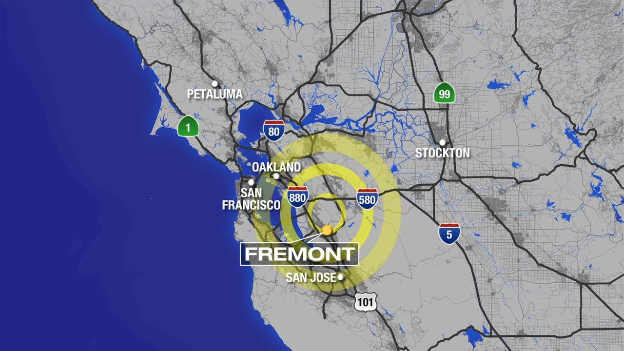 A magnitude 4.0 earthquake rattled the San Francisco Bay Area in Northern California on Tuesday, July 21, 2015.