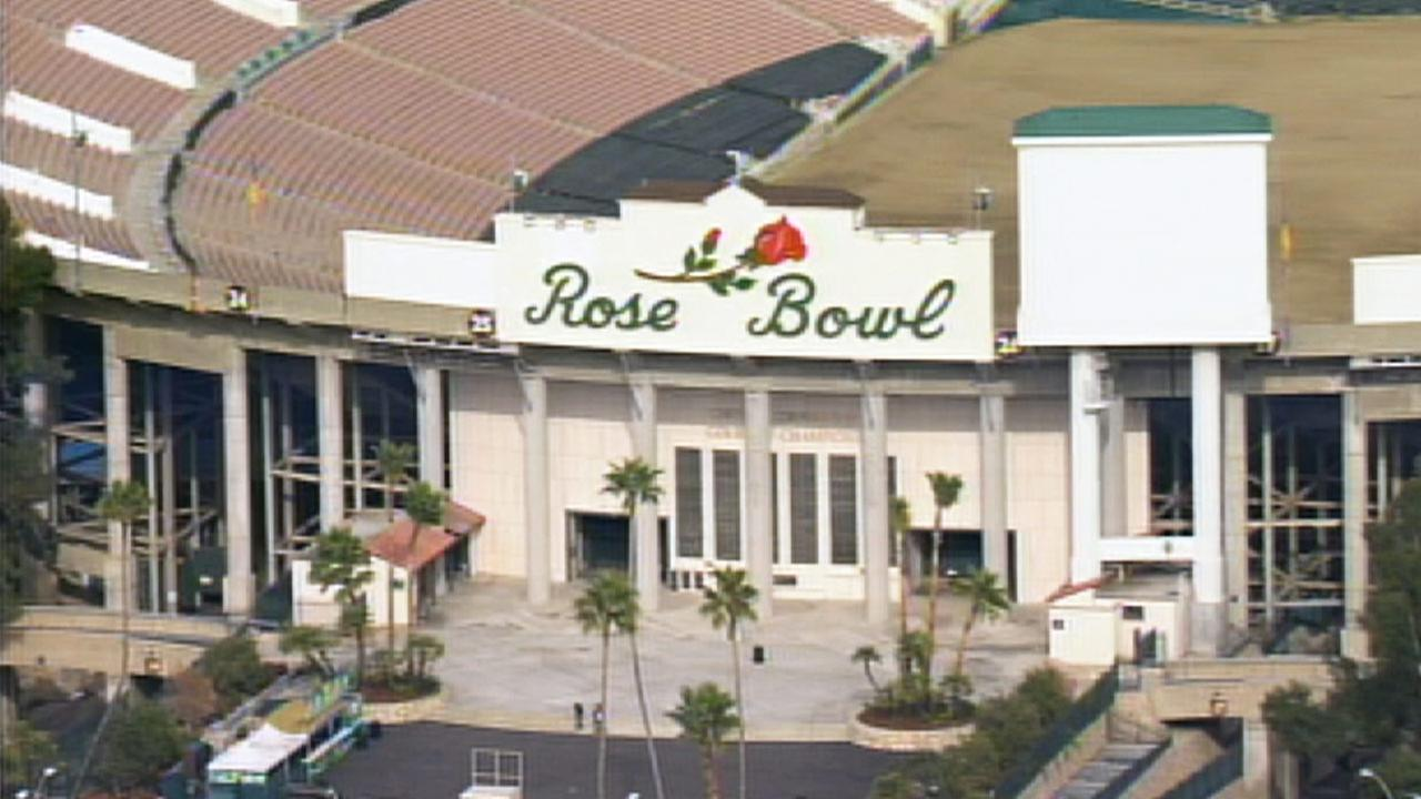 The Rose Bowl is shown in this undated file photo.