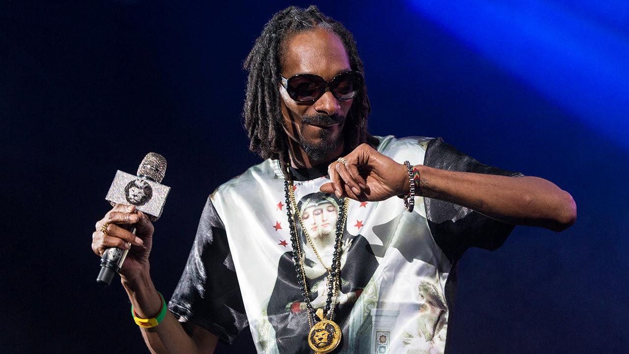 Snoop Dogg performs as part of the How The West Was Won concert at the Verizon Wireless Amphitheater on Saturday, Oct. 12, 2013 in Irvine, CA