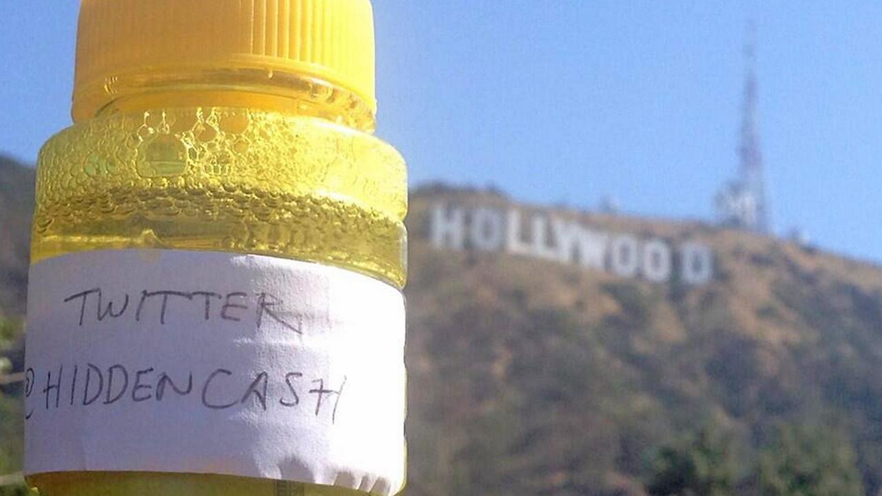 The final clue from @HiddenCash, posted to Twitter on Sunday, June 1, 2014.