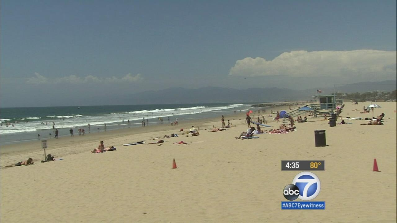 Lifeguards along the coast are on high alert due to dangerous rip currents and strong waves.