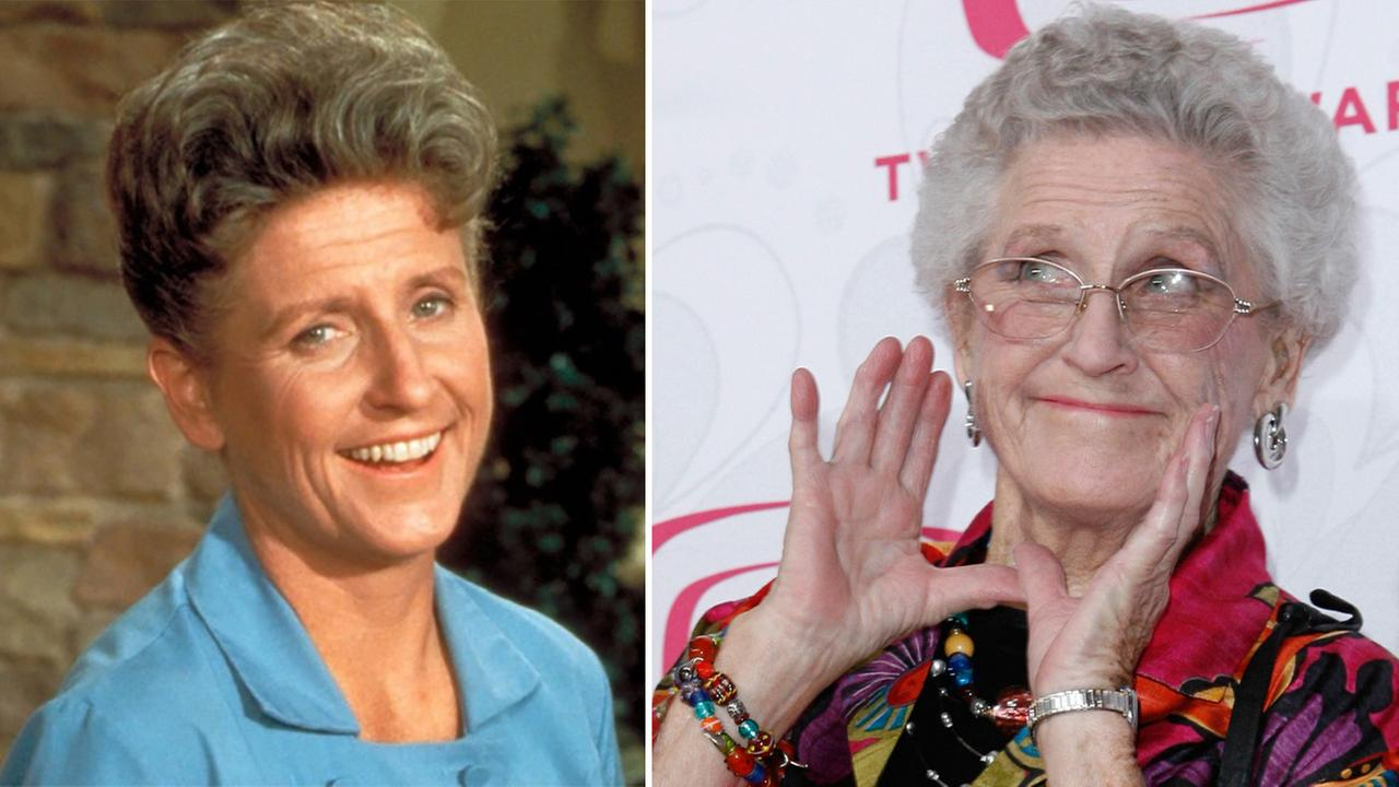 Ann B. Davis, best known for her role as devoted housekeeper Alice Nelson on The Brady Bunch, died Sunday, June 1, 2014. She was 88.ABC Photo Archives / AP / Gus Ruelas