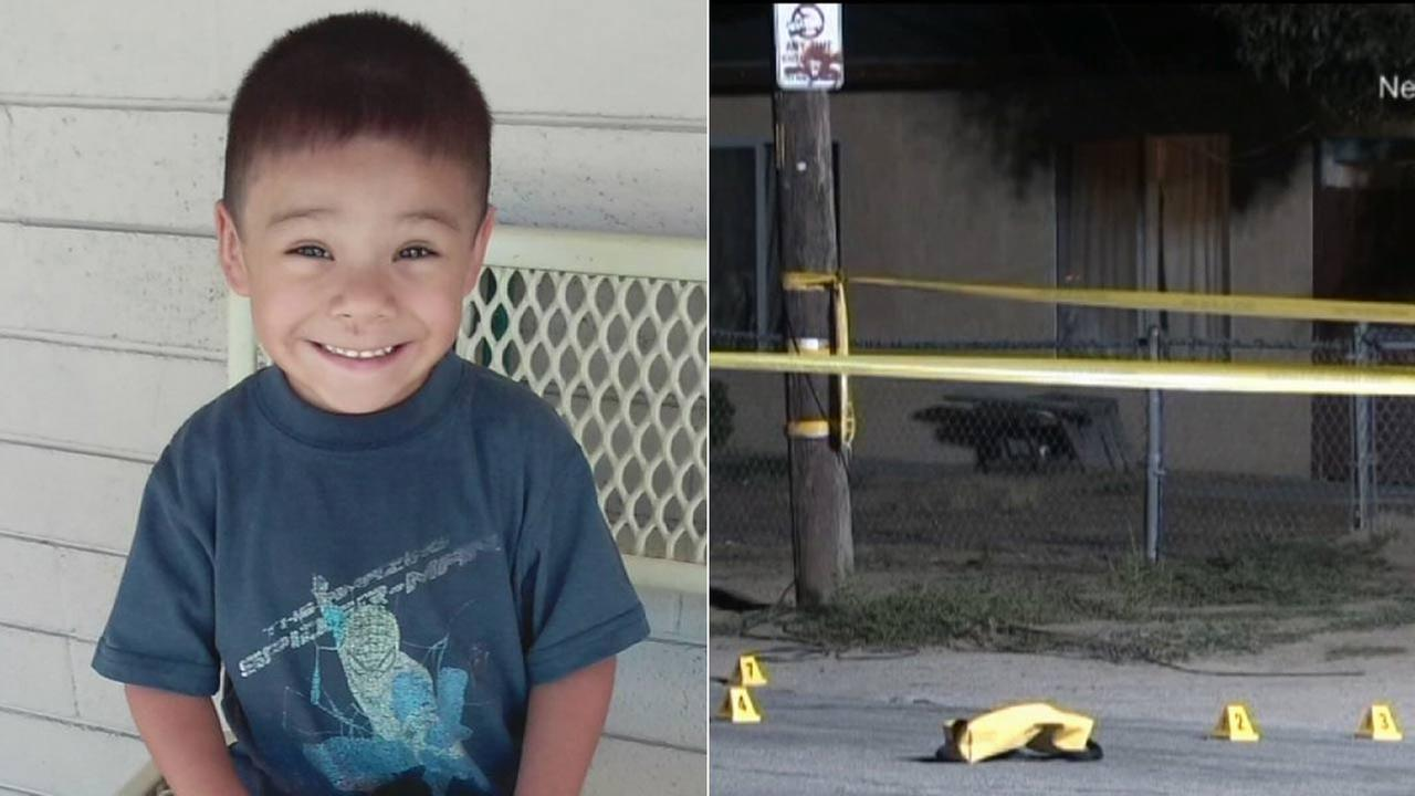 Daniel Munoz, 4, is shown in an undated photo. Munoz was shot and killed while playing outside in a Highland neighborhood on Wednesday, July 29, 2015.