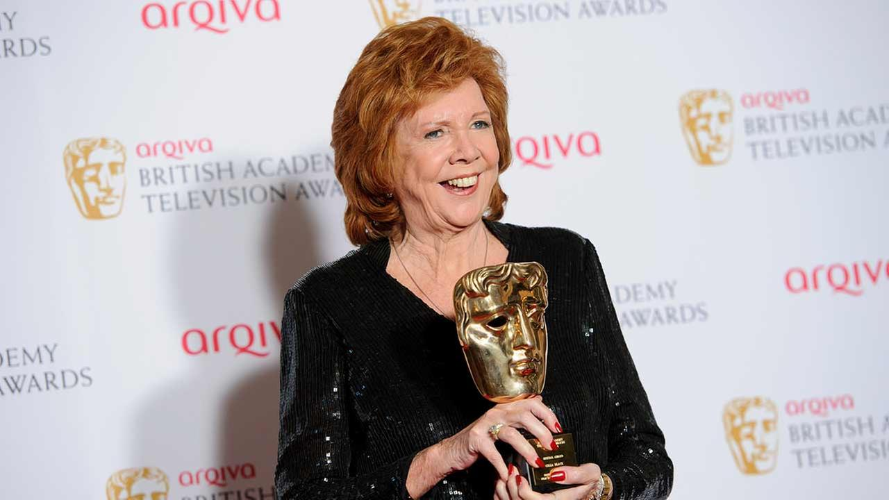 Cilla Black poses for photographers in the winners room at the British Academy Television Awards at a central London venue, Sunday, May 18, 2014.
