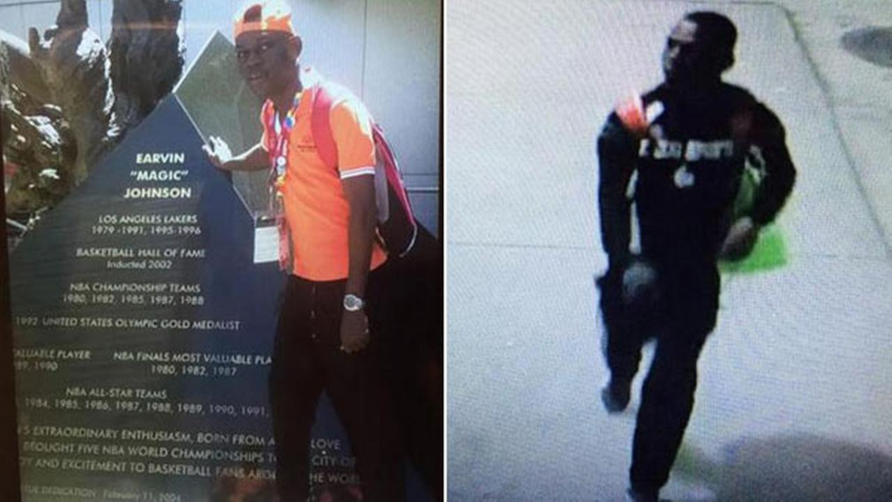LAX police released these images of Cone Angeles Isimel, who was last seen in Terminal 5 on Monday, Aug. 3, 2015.