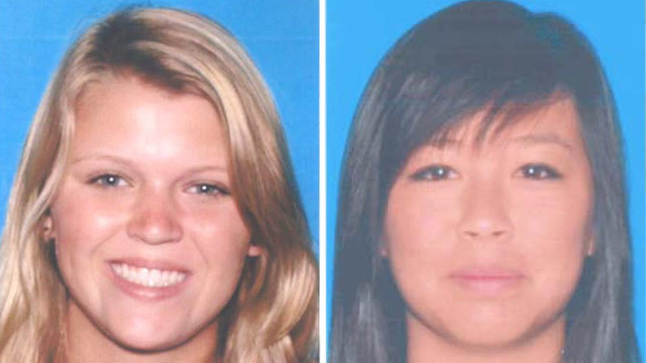 Katie Dix, 19, is shown on the left and Tracy Nguyen, 18, is shown on the right.