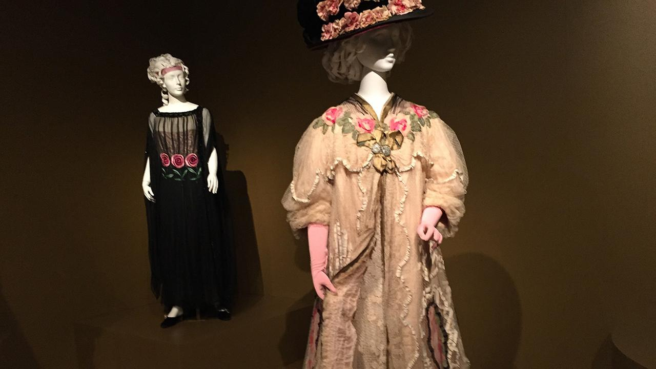 A sample of the Helen Larson Historic Fashion Collection.